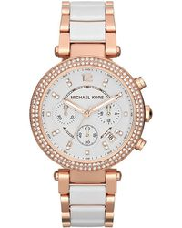 MICHAEL Michael Kors - - Mk5774 - Bronze Women's Analogue Watches In Other - Lyst