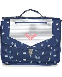 Roxy - Take A Hike Girls's Briefcase In Blue - Lyst
