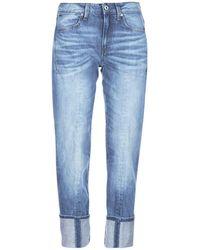 G-Star RAW 7/8 Jeans Lanc 3d High Straight - Blauw
