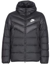Nike Donsjas Smoothrunvest - Zwart