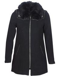 Desigual Mantel Colline - Zwart
