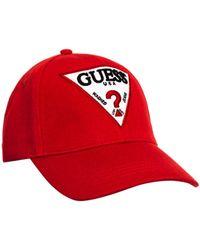 Guess Classic cap Casquette - Rouge