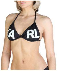 Karl Lagerfeld Kl21Wtp05 bikini Negro