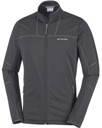 Columbia Trainingsjack Walnut Hills Full Zip Fleece - Zwart