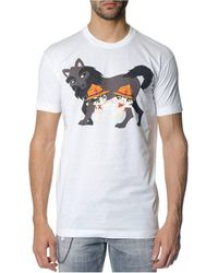 DSquared² Tee Shirt - Wit