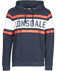 Lonsdale London Sweater Rudston - Blauw
