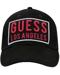 Guess Cap logo Casquette - Noir