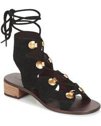 See By Chloé Sb28231 Sandals - Black