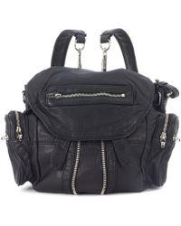 Alexander Wang - Mini Marti Black Leather Backpack Men's Backpack In Black - Lyst
