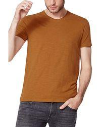 IKKS Tee Shirt Manches Courtes Uni T-shirt - Marron