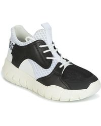 Bikkembergs Lage Sneakers Fighter 2022 Leather - Zwart