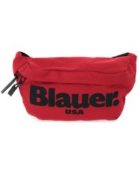 Blauer RED FANNY BAG Sac banane - Rouge