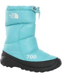 The North Face Nuptse 700 Bottes neige - Bleu