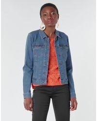 Vero Moda Giacca In Jeans Vmhot Soya - Blu