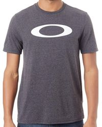 Oakley Blackout Heather O-bold Ellipse T-shirt T Shirt
