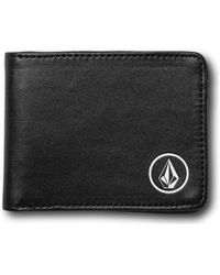 Volcom Corps PU Wallet Porte-monnaie - Noir