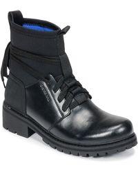 G-Star RAW Laarzen Deline Sock Boot - Zwart