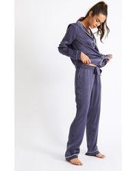Banana Moon Pantalon MOX SAPHYRA - Bleu