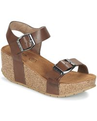 Les P'tites Bombes - Nepal Women's Sandals In Brown - Lyst
