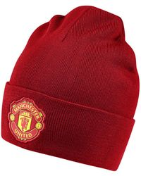 adidas Muts Manchester United Beanie - Rood