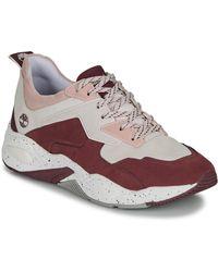 Timberland Lage Sneakers Delphiville Leather Sneak - Meerkleurig