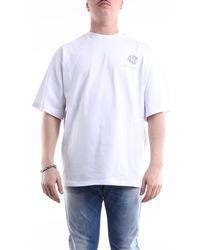 Gcds FW20M020025 T-shirt - Blanc