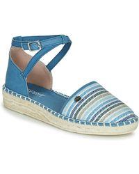 Esprit Sandalen Ines Strip Sandal - Blauw