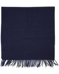 Lanvin Echarpe - Bleu