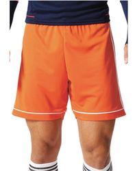 adidas - Squadra 17 Short hommes Short en orange - Lyst