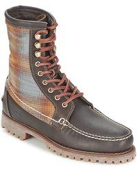 Timberland Laarzen Authentics 8 In RUGGED Handsewn F/l Boot - Bruin