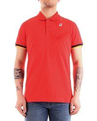 K-Way Camisa manga corta K008J50 - Rojo