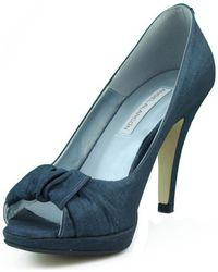 Ángel Alarcón Ang Alarcon Nevada Cobalto Women's Court Shoes In Multicolour - Blue