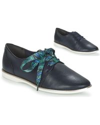 Tamaris - Lacapi Women's Casual Shoes In Blue - Lyst