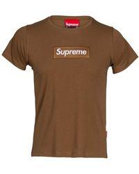 Supreme LM20-20096-TE T-shirt - Blanc