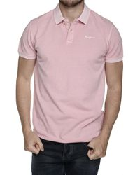 Pepe Jeans Polo manches courtes Polo - Rose