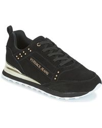 Versace Jeans - Amber Vrbsd2 Women's Shoes (trainers) In Black - Lyst