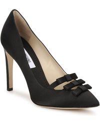 Moschino MA1012 femmes Chaussures escarpins en Noir