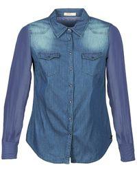 Ddp Overhemd Itea - Blauw