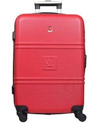 Słoń Torbalski 040401o09 Hard Suitcase - Red
