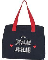 Petite Mendigote Boodschappentas Jolie - Blauw