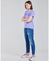 DIESEL Camiseta 00SYW8-0CATJ-64F - Morado