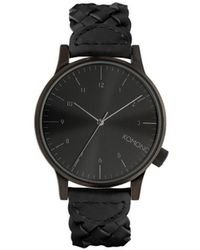 Komono Horloge Winston All Black - Zwart