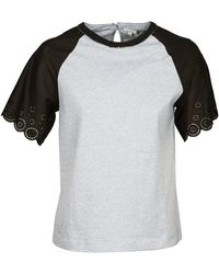 Manoush T-Shirt Fancy - Grigio