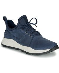 Timberland Lage Sneakers Brooklyn Lace Oxford - Blauw