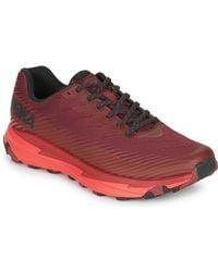 Hoka One One Lage Sneakers Torrent 2 - Rood
