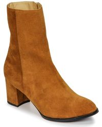 Emma Go - Kate Women's Low Ankle Boots In Brown - Lyst