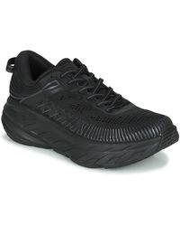 Hoka One One Lage Sneakers Bondi 7 - Zwart