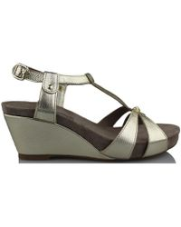 Mephisto - Briana Metalkid Women's Sandals In Gold - Lyst