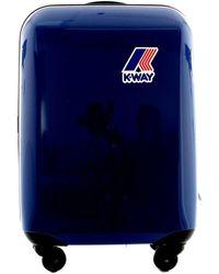 K-Way Reiskoffer K00auf0 - Blauw