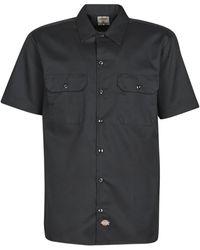 Dickies Overhemd Korte Mouw Short Sleeve - Zwart